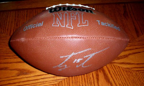 Tim Tebow Signed Autographed Official Size NFL Football New York Jets - Florida Gators - - COA - Beautiful Ball at Amazon.com