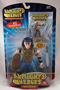 Almighty Heroes Action Figure- Moses