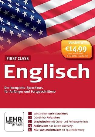 First Class Sprachkurs Englisch 11.0