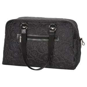 Amazon.com: Thirty-One City Weekender Tote Black Quilted Poppy