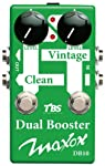 Maxon Compact Series DB10 Dual Booster Guitar Signal Path Pedal from Godlyke Distributing