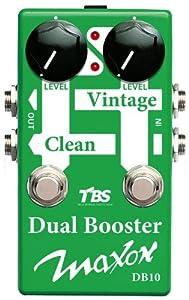 Maxon Compact Series DB10 Dual Booster Guitar Signal Path Pedal