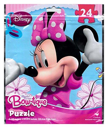 Disney Minnie Mouse Bowtique 24 Piece Puzzle on the Go in Foil Bag - 1