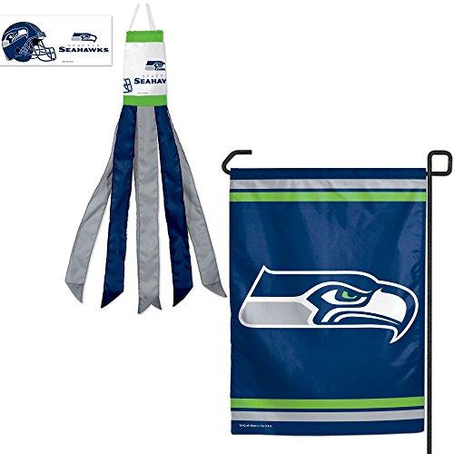 Seattle-Seahawks-NFL-Garden-Flag-Windsock-Set-2-Pack
