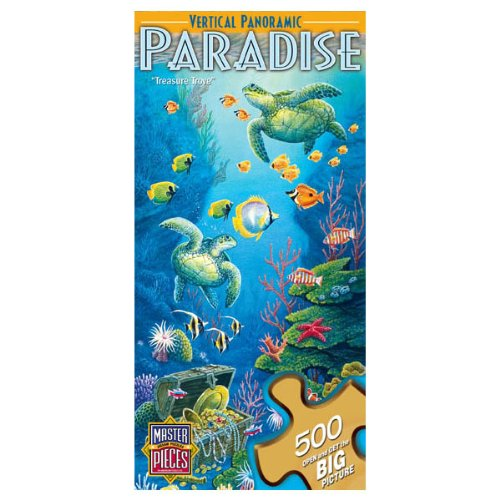 Masterpieces Verticle Panoramic Puzzle ~ Under the Falls (500 Pieces)