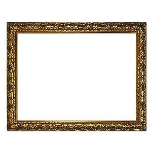 Cornice barocca 333 ORO, oro 60 x 80 cm, cornice vuota