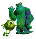 James Sullivan aka Sulley & Mike Wazowski in Monsters Inc Monsters University Movie Disney Heat Iron On Transfer for T-Shirt
