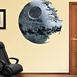 (50x50) Death Star - Star Wars Movie Repositional Fathead Wall Decal