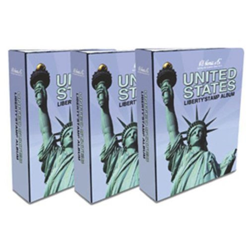 Harris-USA-Liberty-Stamp-Album-Vol-1-3-1847-2015-with-Pictures-Illustrations