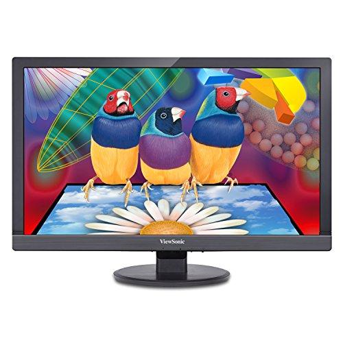 ViewSonic VA2455sm 24-Inch SuperClear Pro LED-Lit Monitor (Full HD, True 8-bit, Flicker-Free, ViewMode)