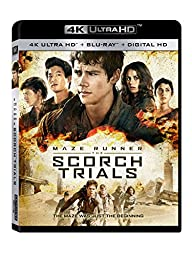 Maze Runner: The Scorch Trials (4K Ultra HD + Blu-ray + Digital HD)
