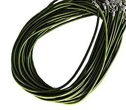 Rockin Beads 19 4mm Satin Cord Necklaces 19\