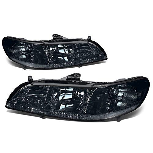 Honda Accord Replacement Headlight Lamp Assembly (Smoke Lens) - CG (Headlight Assembly Honda Accord compare prices)