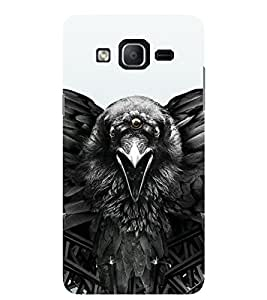 Evaluze crow Printed Back Cover for SAMSUNG GALAXY ON5 2015