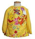 ディズニー幼児用スモック カーズ プーさん  ミニー 男児・女児・保育園・保育所 (100, くまのプーさん) -