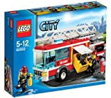 LEGO City - Fire Truck - 60002 60002 (Get to your action stations! There's a fire in LEGO® City and the firefighters need to rush to the scene in their amazing Fire Truck! Connect the hose, extend the ladder and suit up in firefighting gear... )