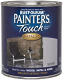 Rust-Oleum 254100 Painters Touch Quart Oil Based, Metallic Silver