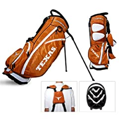 Brand New Texas Longhorns NCAA Stand Bag - 14 way by Things for You