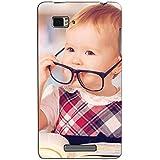 Bluethroat Cute Baby Girl Wearing Specks Back Case Cover For Lenovo Vibe Z K910