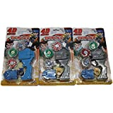 LAXMI COLLECTION (PACK OF 3) FANCY DESIGNER BAYBLADE FOR KIDS,RETURN GIFT FOR KIDS BIRTHDAY PARTY (FOR MORE GIFTS...