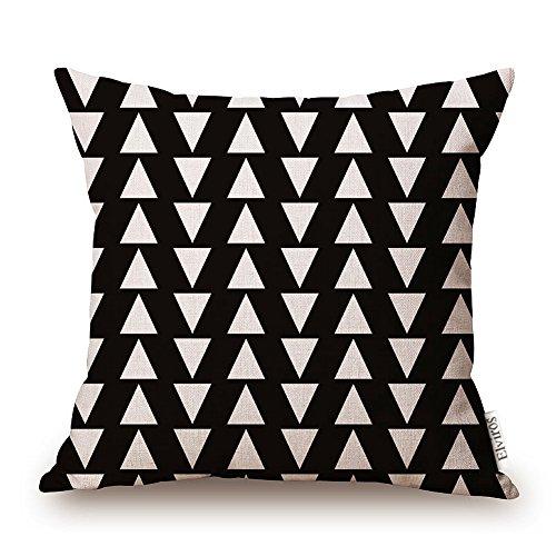 elviros-cotone-misto-lino-decorativo-fodera-per-cuscino-45x45cm-18x18-pollici-geometrico