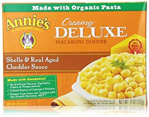 Annie's Homegrown Creamy Deluxe Shells & Cheddar, 11 Oz