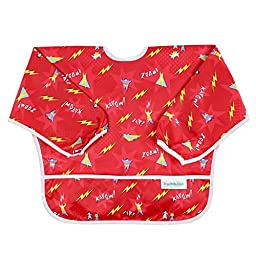 Bumkins Waterproof Sleeved Bib, Kapow