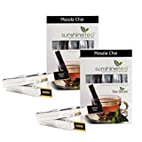 Sunshine Masala Chai Tea - 10 Tea Sticks (Set Of 2)