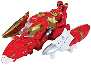 Power Rangers Megaforce Sky Brothers Zord Vehicle and Red Ranger