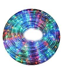 Toygully Multicolour LED Rope Light 5Mtr