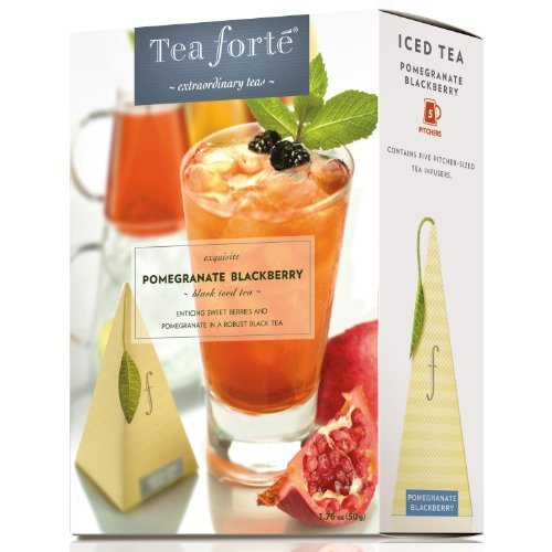 Pomegranate Blackberry by Tea Forte - Five Iced Teas