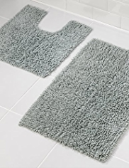 Cotton Loop Bath & Pedestal Mats
