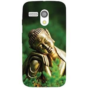 Motorola Moto G Back Cover - Buddha Designer Cases
