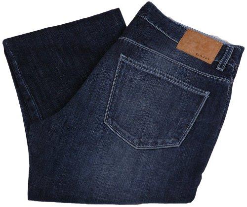 GANT Jeans da uomo pantaloni 2.Wahl, Model: TYLER, colore: blu scuro, -- , nuovo ---, upe: 159,90 Euro blu scuro W30/L34