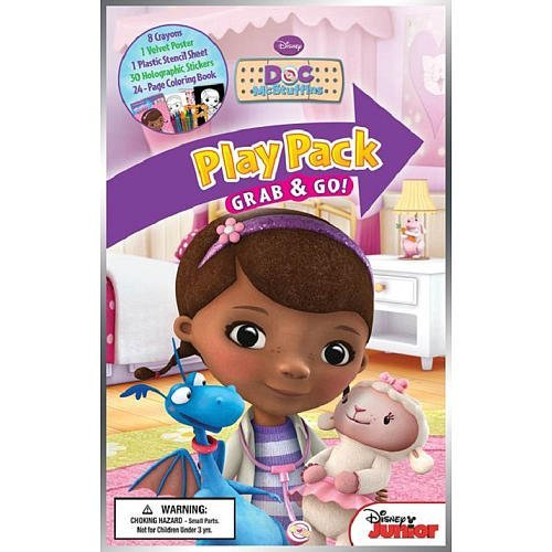 Disney Jr. Doc McStuffins Large Play Pack Grab & Go - 1