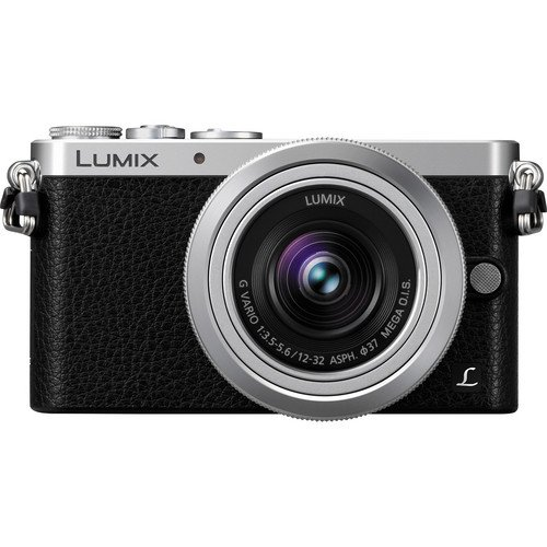 Panasonic LUMIX DMC-GM1 16.0 MP Digital Camera (Silver, W/ 12-32 Lens)
