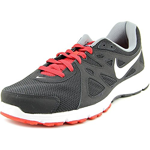 Nike Mens Revolution 2 Running Shoe (8 4E - Extra Wide, Black/Red/White) (Mens Extra Wide Running Shoes compare prices)