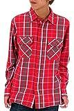 (アヴィレックス) AVIREX シャツ メンズ 長袖 チェックシャツ ブランド 2color LL レッド