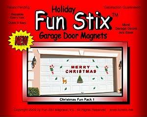 Merry Christmas Garage Door Magnets Outdoor Decor
