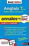 ANNALES BAC 2014 ANGLAIS TERM