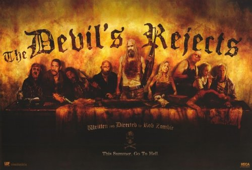 The Devil's Rejects Horizontal Movie Poster (The Devil Poster compare prices)