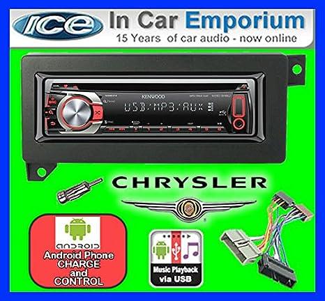 Chrysler 300C de lecteur CD et stéréo de voiture radio Clarion jeu USB pour iPod/iPhone/Android