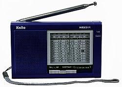 Kaito WRX-911 AM/FM Shortwave Radio Blue