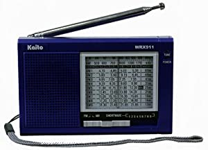 Kaito WRX-911 AM/FM Shortwave Radio, Blue