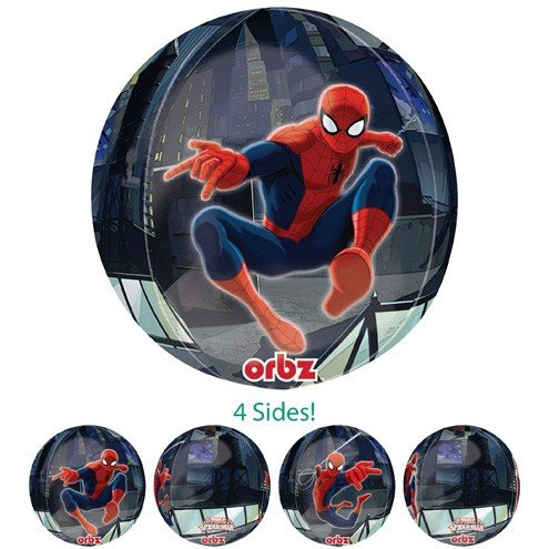 Orbz Marvel Ultimate Spiderman Balloon 16 In by Anagram