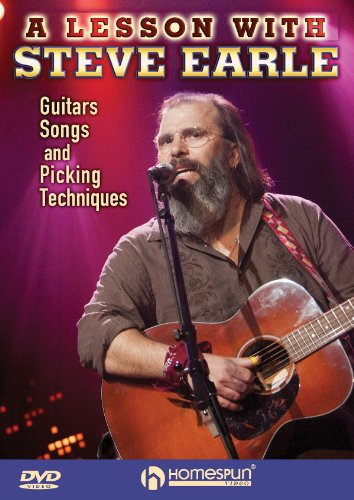 Steve Earle: Guitars Songs Picking Techniques [DVD] [2012] [Region 1] [US Import] [NTSC]