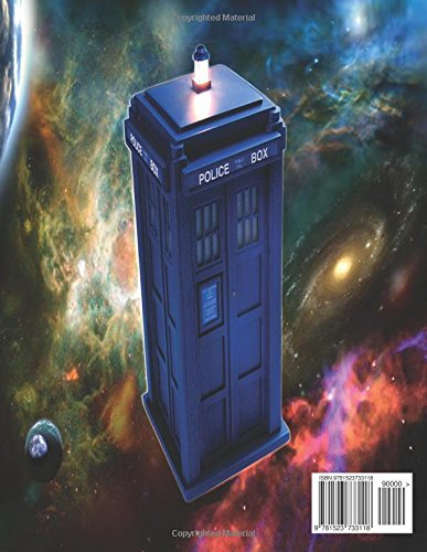 Doctor Who Creative Colouring Book: Cybermen, K-9, Rose, Rory, Amy,David Tennant, Matt Smith, The Master,Present, Gift, Kid, Child, Children, TV ... Sonic,  Space, Planet, Time Travel