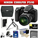 Nikon Coolpix P510 (Black) Package