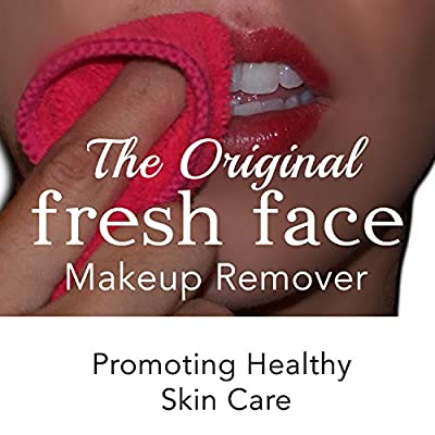 Using two or three face wipes a day? Need a gentle eye makeup remover face cloth? Makeup eraser is reusable and chemical free. Removes all makeup including mascara, foundation, and lipstick. by Fresh Face