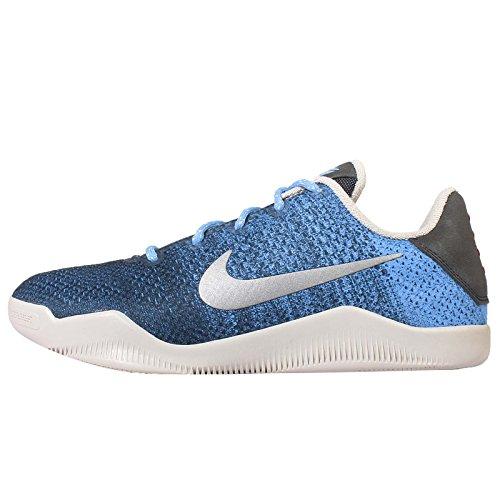 Nike Kid's Kobe XI GS, BRAVE BLUE/LIGHT BONE-UNIVERSITY BLUE, Youth Size 6 (Kobe Shoes Kids compare prices)